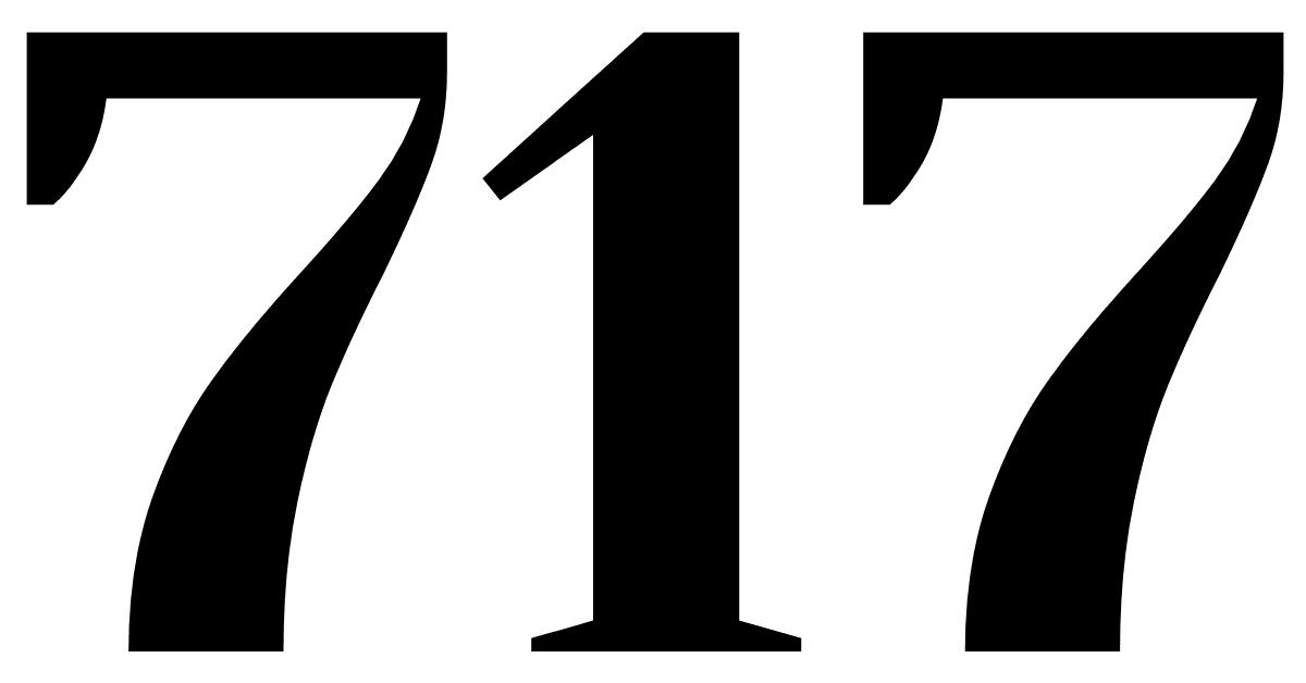 number 717