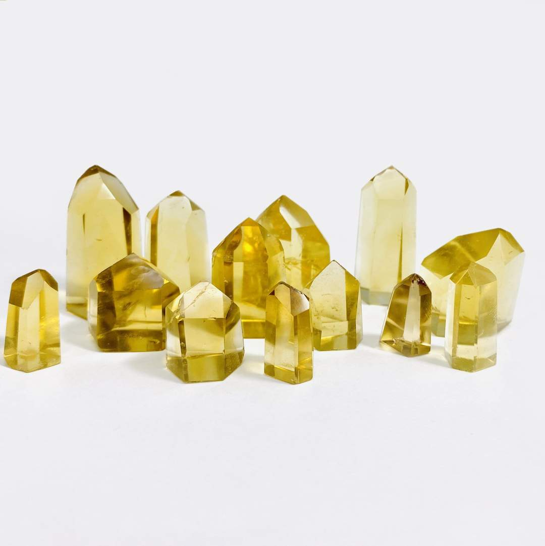 Citrine crystals for protection.