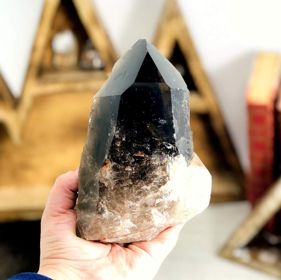 Smoky quartz crystals for protection